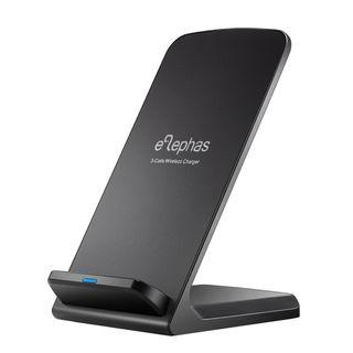 ELEPHAS 3 Coils Wireless Qi Fast Charging Stand
