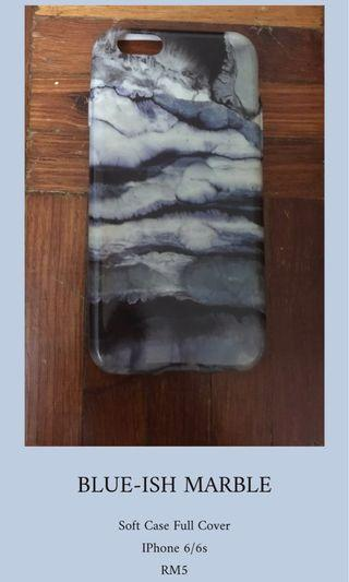BLUE-ISH MARBLE IPHONE COVER