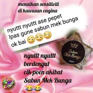 Sabun Mek Bunga