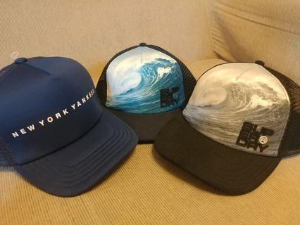 100%正版全新Superdry MLB 帽 (三頂不散賣)