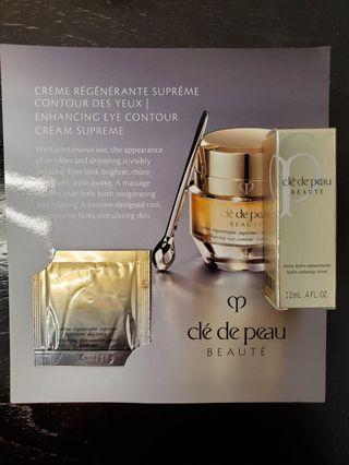 (包郵)Cle De Peau(Eye Cream + Hydro Lotion)