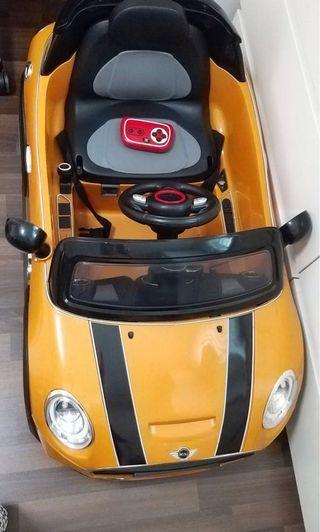 Moving out sale - Mini Cooper Car Electric 2 in 1 Car