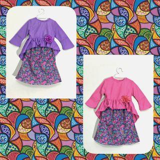 #BABY'S KURUNG PEPLUM # baju #kurong #babies #infants #girls #kids #hariraya #bajuraya #cute