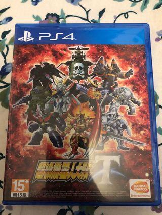 PS4 超級機械人大戰T 中文版