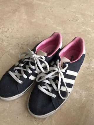 Adidas navy shoes