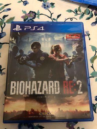 PS4 生化危機RE2