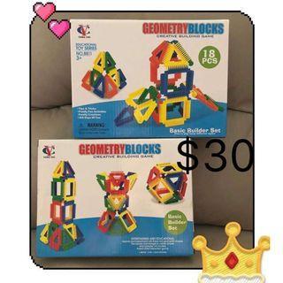 幼兒/兒童益智玩具 親子遊戲 3D版立體積木 $30