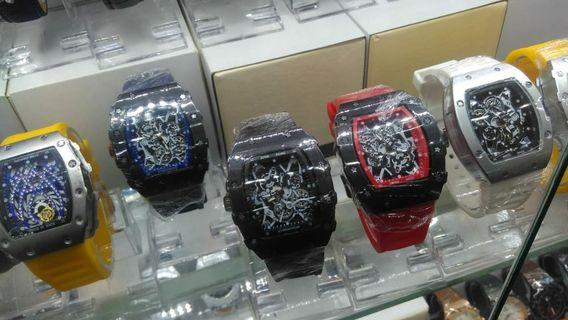 ready free box,batre diameter 4cm richard mill crono off ruber