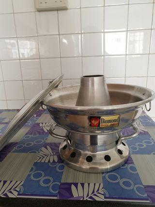 🚚 Stainless Steel steamboat charcoal pot