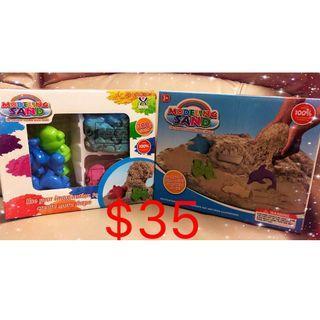 幼兒/兒童益智玩具 親子遊戲 太空玩具沙配工具 $35