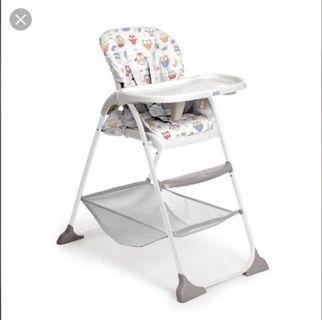 🚚 Joie minzy highchair