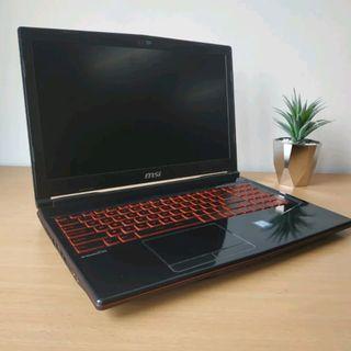 Laptop Gaming MSI GL-63 Intel i7 Gen 8