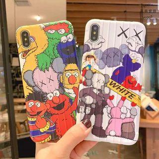 KAWS芝麻街iphone殼