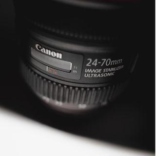 FOR SALE! Lensa Canon 24-70mm F/4 Kondisi dijamin mulusss! NEGO NEGO