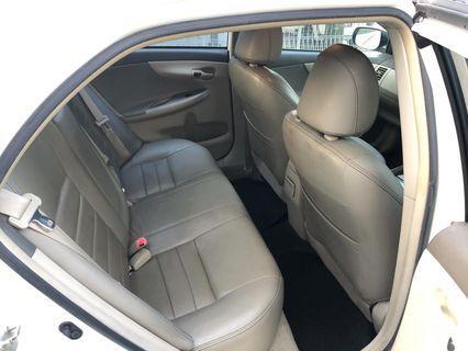 Rental TOYOTA ALTIS 1.6A car for PHV grab go-jek tada personal cheaper rate