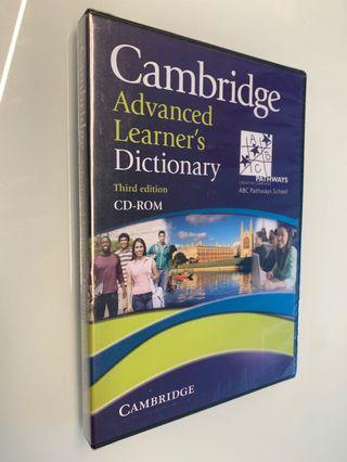 Cambridge Dictionary Third edition CD-Rom