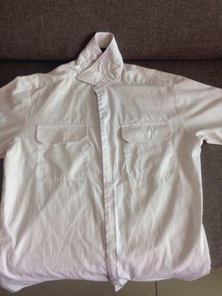 ACJC White Shirt Uniform Size 14