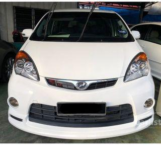 2013 Perodua Alza 1.5 Advance (A) One Owner Leather Seat DVD Reverse Camera