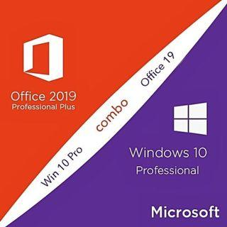 評價保證Windows 10 Pro and Office Pro 2019