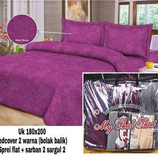 bedcover set sprei polos , bedcover embos ,bedcover homemade