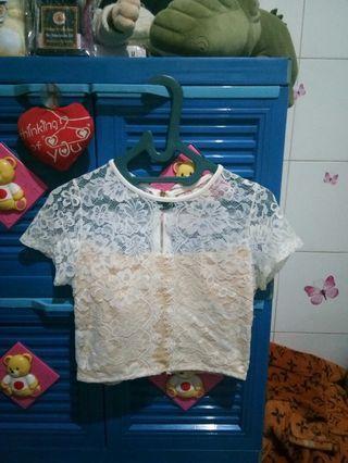 Baju Putih Pesta