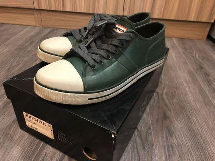 Hunter帆布鞋款低筒(綠色)