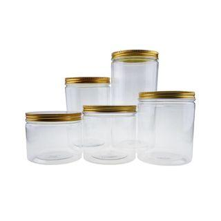 Plastic Container for Cookies [Gold]