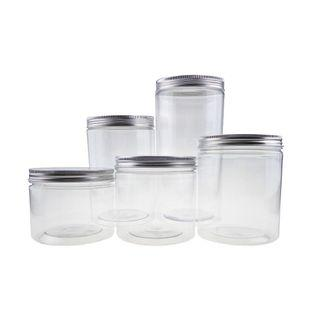 Plastic Container for Cookies [Silver]