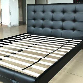 Sale! queen bed frame Air leather amazing quality