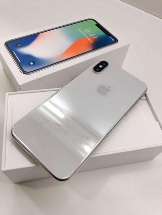 iPhone X256GB 銀色