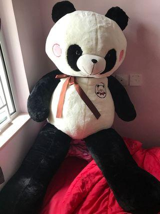 巨型熊貓毛公仔