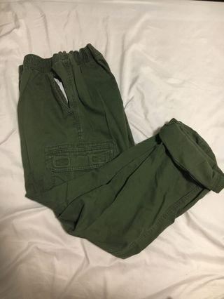 olive green cargo pants