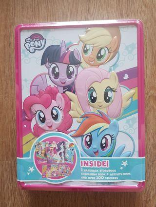 🚚 My little Pony Activity box with story box and stickers