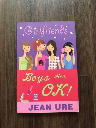 🚚 Girlfriends Boys Are Ok! Book