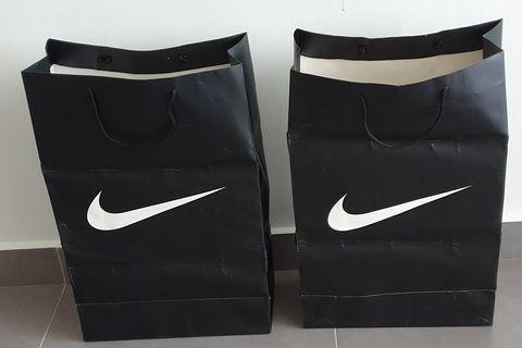 2 Nike Paper Bag