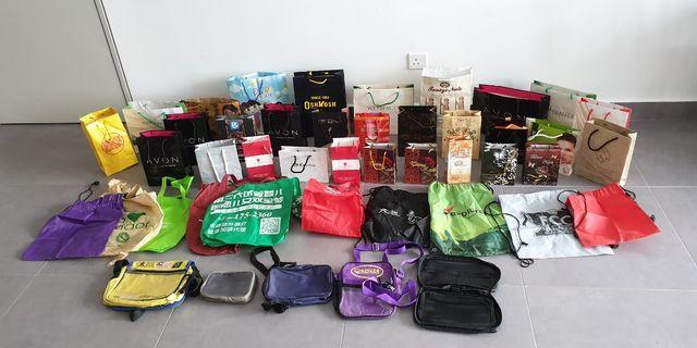 50 Bags - Paper Bags, Gift Bag, Multipurpose Bag