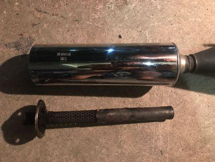 Rxz Operated Pipe with Silencer