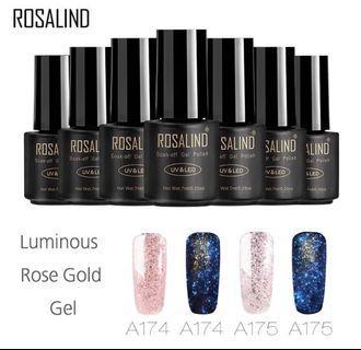 Rosalind Luminous Series Nail Gel / Kutek Gel Import Murah