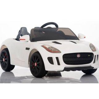 12V 兒童電動車 Jaguar F-Type(白色)