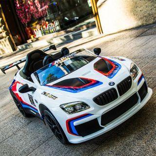 新款BMW M6 GT3 12V兒童電動車