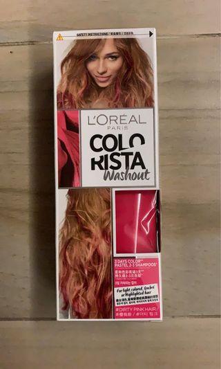 L'Oréal Paris Colorista Washout 染髮劑 - 櫻桃粉