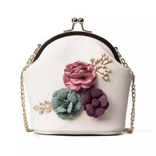 Flower Chain Sling Bag