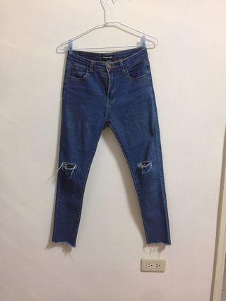 🚚 Mumu shop 貼身牛仔長褲