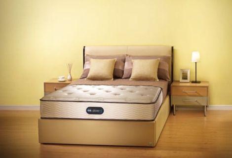 Simmons床褥5折出售,99%新