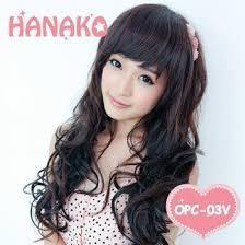 hanako 假髮 曲髮片