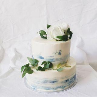 2 Tier Fresh Floral Cakes