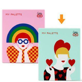 🚚 〔全新 未拆〕Innisfree My Palette x Olimpia Zagnoli 自組眼影盒(小)