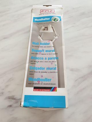 Wall holder for iron and ironing table, made in Germany