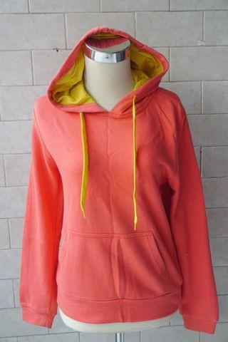 Sweater Hoodie Peach