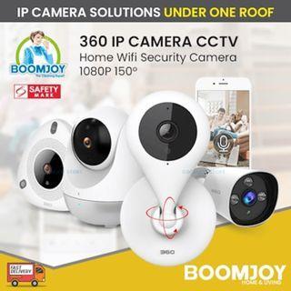 Wireless IP Cam 360 IP Camera CCTV Home Wifi Security Camera 1080P 150° 7M Night Vision Baby Monitor